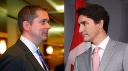 Sondage: libéraux et conservateurs au coude-à-coude avant la