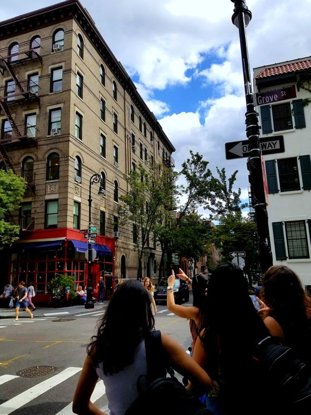 L'appartement de «Friends», dans West Village, à New York (Malik Cocherel/HuffPost