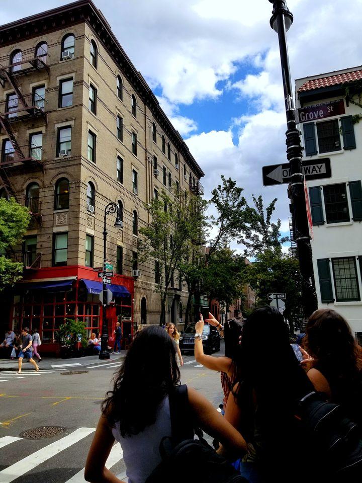L'appartement de «Friends», dans West Village, à New York (Malik Cocherel/HuffPost Québec)