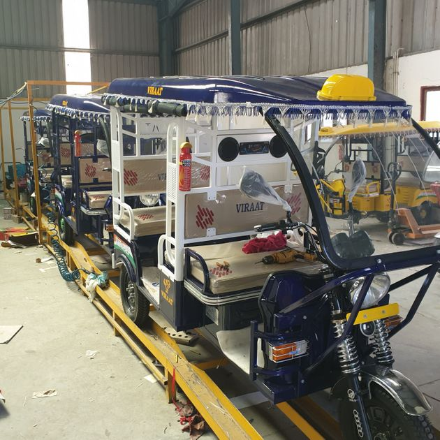 Newly manufactured e-rickshaws fitted with Lead Acid batteries (LABs) set to hit the streets, at a manufacturing...