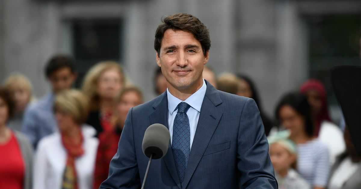 Trudeau Launches Election Campaign With Vote Set For Oct. 21