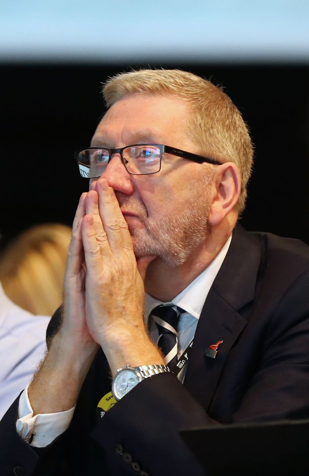 Len McCluskey, General Secretary of Unite the union, during the TUC Congress in