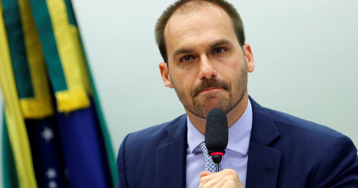 Eduardo Bolsonaro diz já ter votos para virar embaixador nos EUA