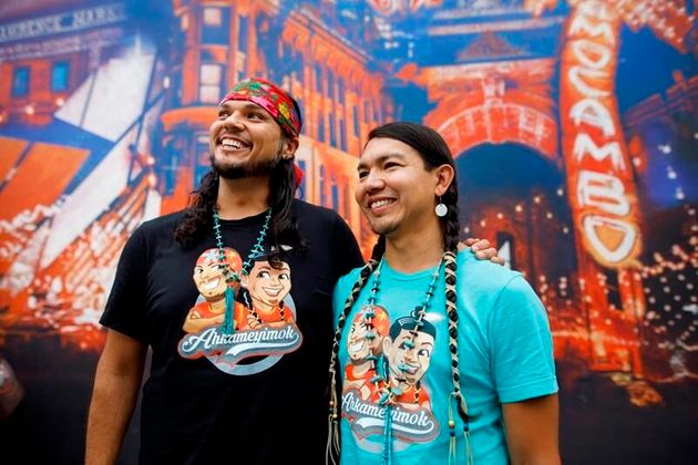 Fun fact: Anthony Johnson and James Makokis got married in the middle of a Vancouver marathon, two years