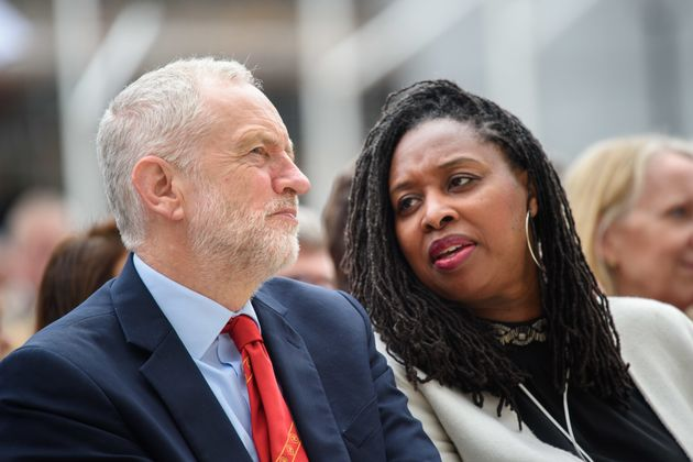 Jeremy Corbyn and shadow women and equalities secretary Dawn