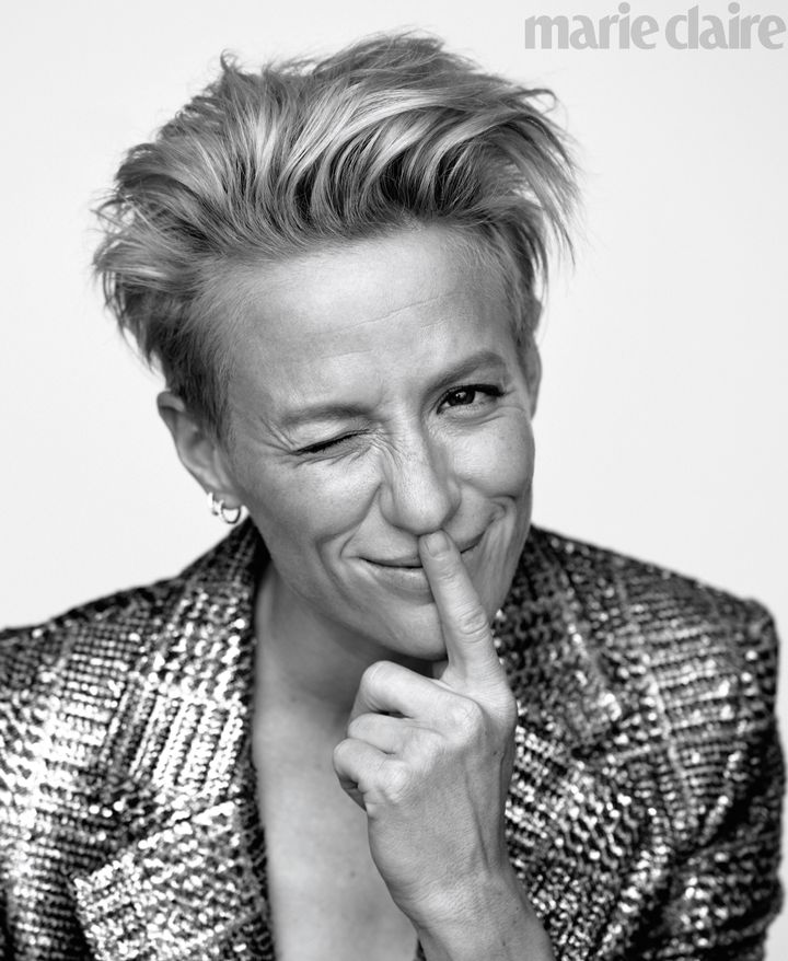 Westlake Legal Group 5d7923902300001c05512e59 Megan Rapinoe Reflects On Trump's 'Ridiculous' Interference With The World Cup