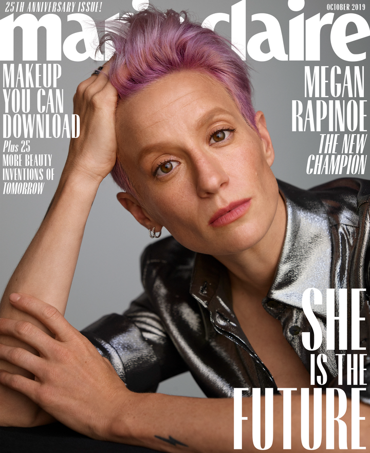 Westlake Legal Group 5d7923cb2300001c05512e7f Megan Rapinoe Reflects On Trump's 'Ridiculous' Interference With The World Cup