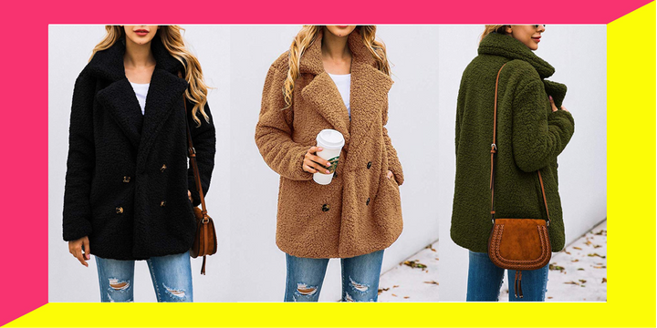 cost charm low price sale latest This Has To Be Amazon's Most Affordable Teddy Coat ...