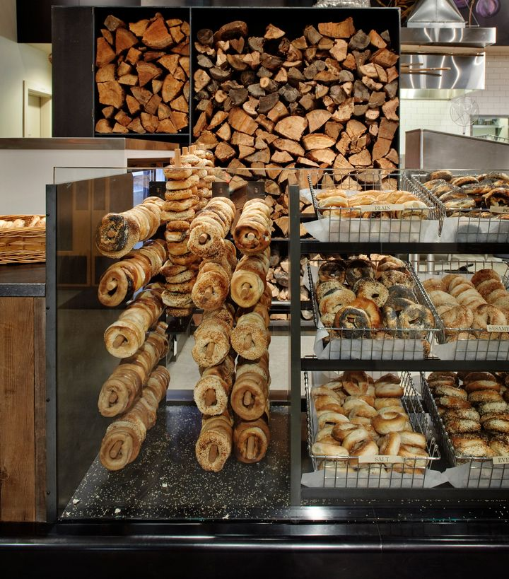 At Eltana in Seattle, Montreal-style bagels are made in a wood-fired oven.