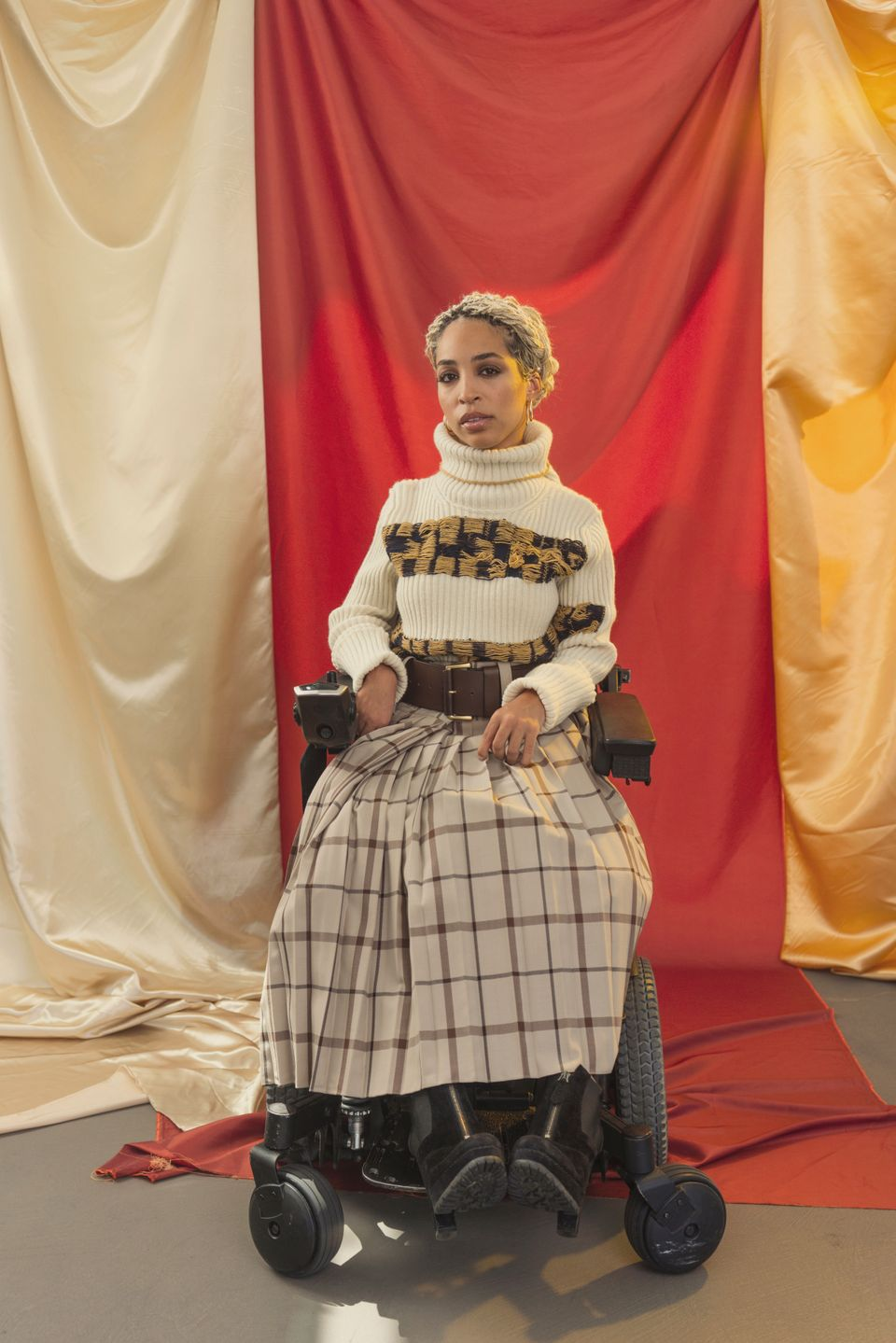 Jillian Mercado On Being A Disabled Latina Model: 'We're Not Going