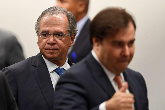 Nova CPMF em estudo pela equipe de Paulo Guedes recebeu críticas de parlamentares, afirmou Rodrigo