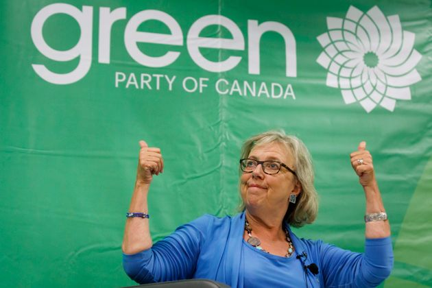 Green Party of Canada leader Elizabeth May in Toronto on Sept. 3,
