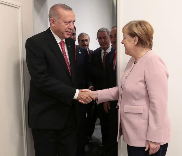 Τηλεφωνική συνομιλία Μέρκελ-Ερντογάν με κεντρικό θέμα το