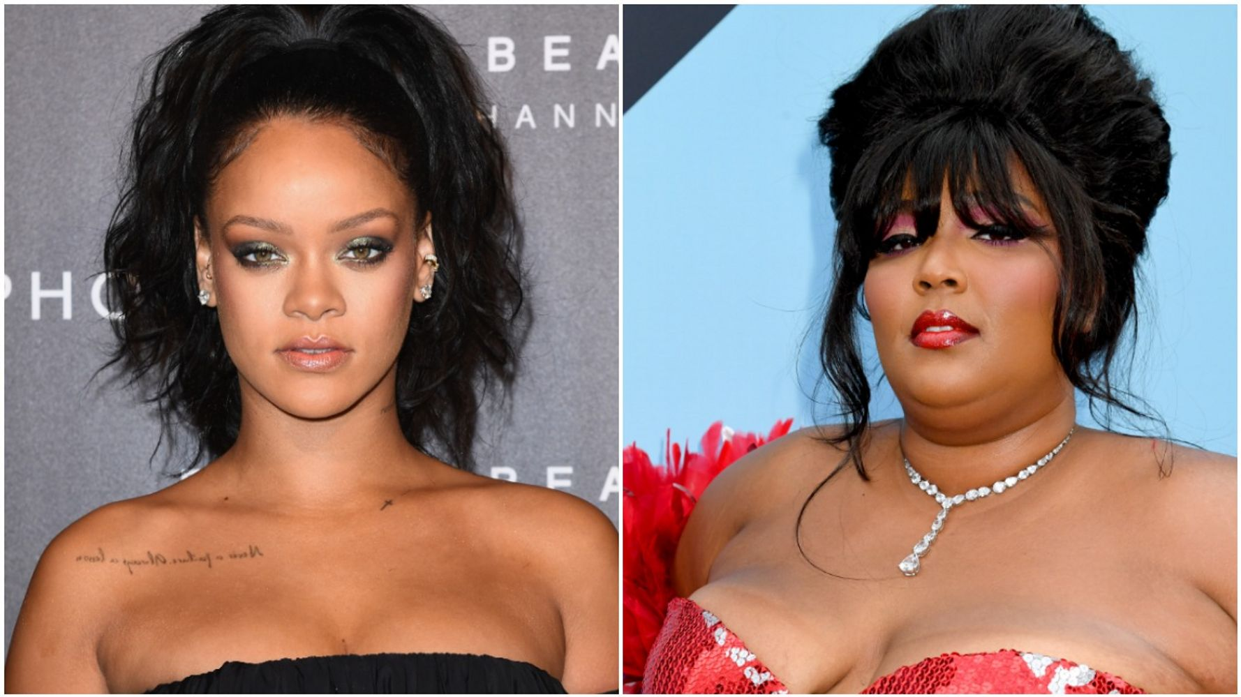 Westlake Legal Group 5d7955492300001005514ece Rihanna Says, 'Gosh I Love Lizzo,' Wants To Collaborate With The Singer