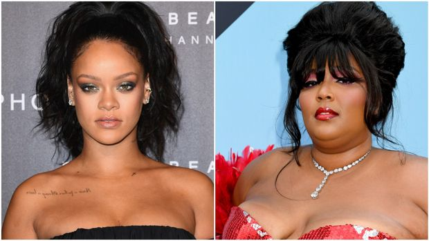 Rihanna, Lizzo (Getty Images)