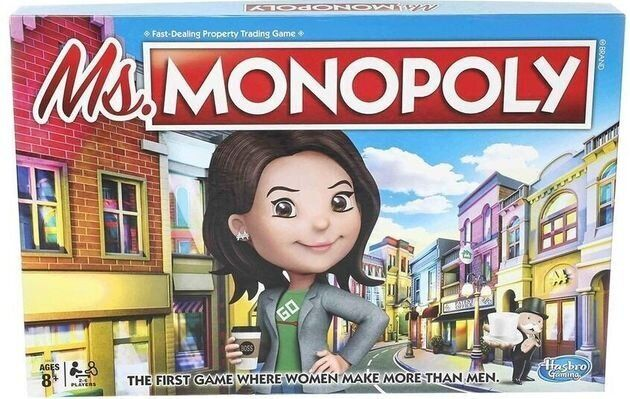 Le nouveau Monopoly présenté mardi 10 septembre par Hasbro fait gagner plus d'argent aux femmes qu'aux