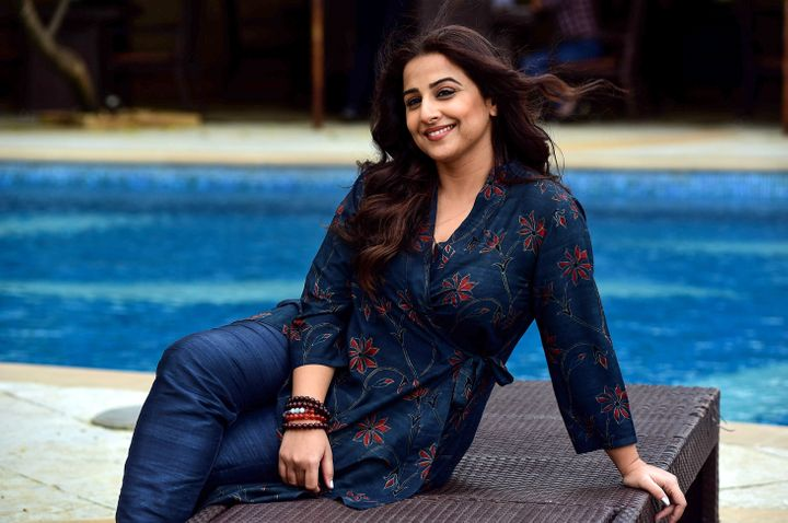 Bollywood actress Vidya Balan said she's worked to not feel guilty for not always being the perfect domestic caretaker to her