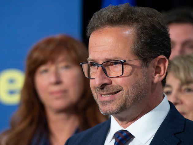 Le chef du Bloc québécois Yves-François