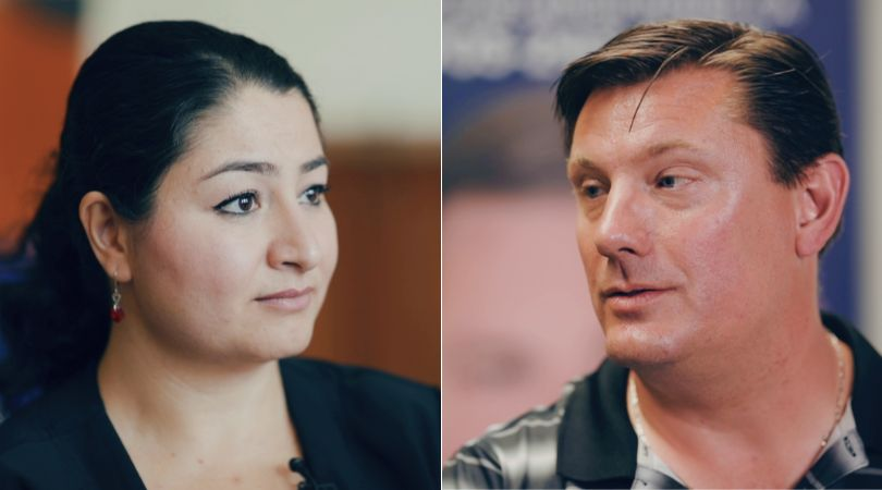 Liberal Maryam Monsef and Conservative Mike Skinner are squaring off in