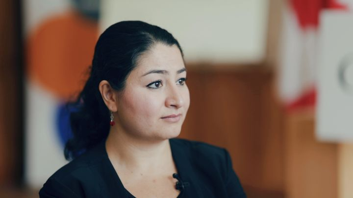 Maryam Monsef denies her opponent's claim she has been missing in action.