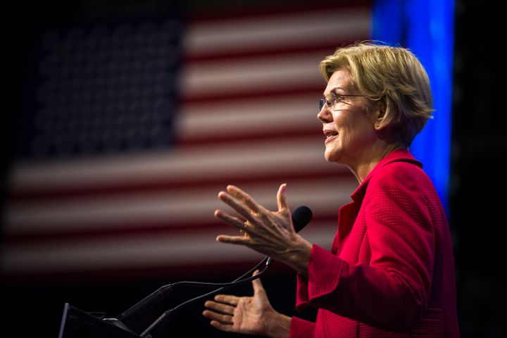 Sen. Elizabeth Warren (D-Mass.) frames her plan to increase Social Security benefits as part of a career-long commitment to c
