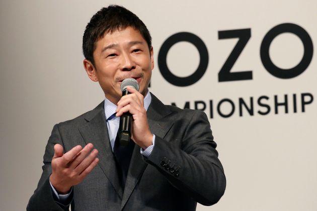 前澤友作さん(2018年11月撮影)