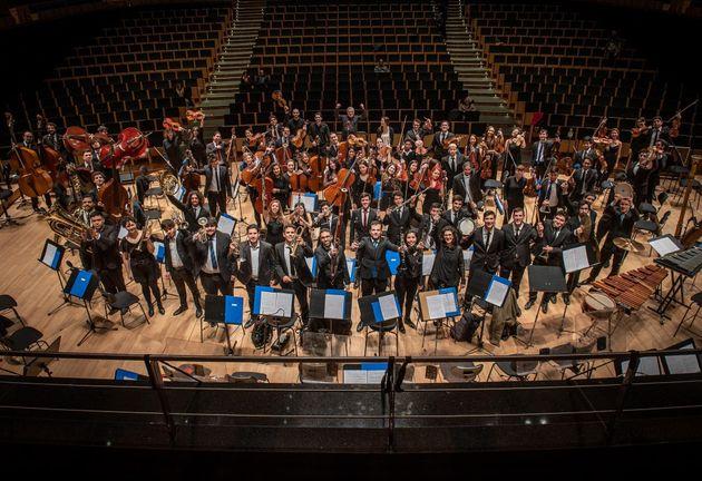 アルゼンチン国立青少年オーケストラのメンバー