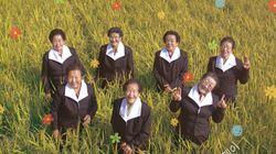 '칠곡 가시나들' 할머니들이 청와대에 보내온