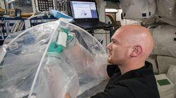 나사(NASA)가 우주에서 시멘트를