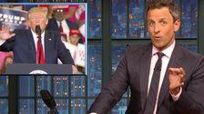 Seth Meyers: Trump Habe Gerade Die 'Dümmste Was ich Je Gesehen habe, In Irgendeiner Arena'