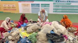 Why People Are Calling Narendra Modi Out On 'Swachhata Hi Seva' Photo Op With 'Hygienic