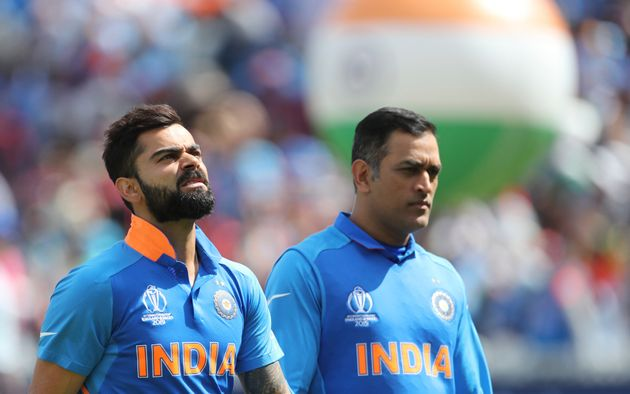 File image of Virat Kohli and MS