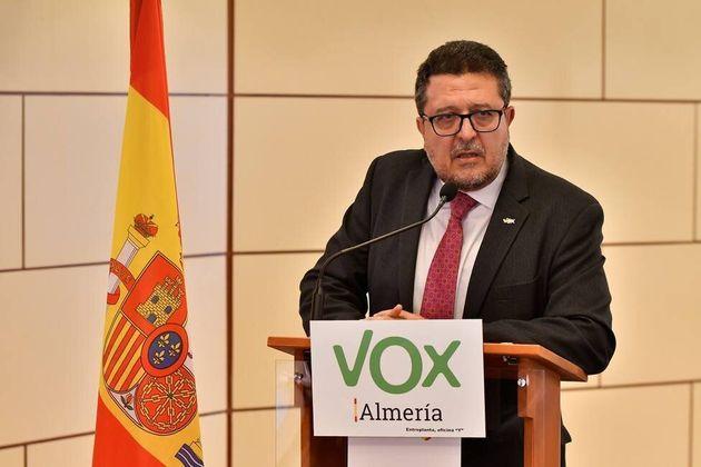 El diputado de Vox Francisco