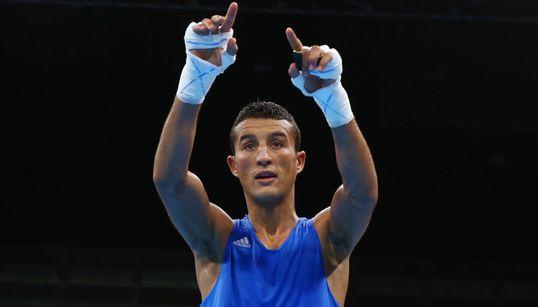 Championnats du monde de boxe élite: le Marocain Hamoute bat le Tadjik Sagizov