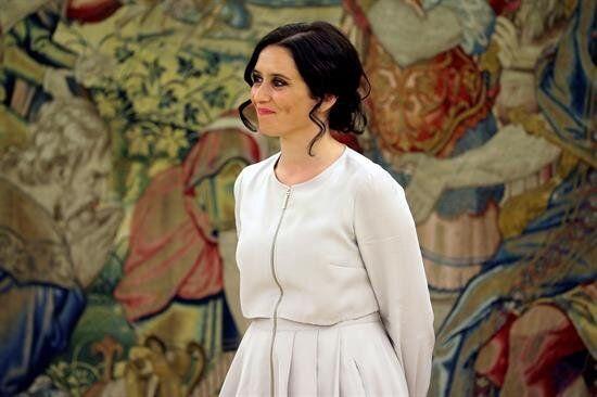 Isabel Díaz Ayuso el pasado