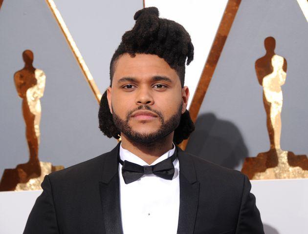The Weeknd méconnaissable au Festival du film de