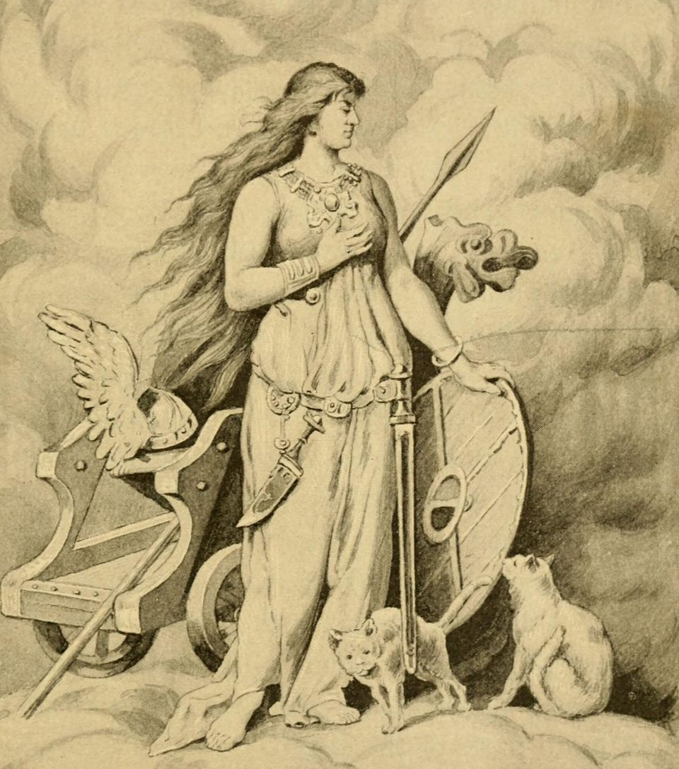 H Θεά Φρέγια (Freya ή