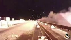 Non basta lo slowmotion per vedere il razzo ipersonico che vola a 10km/h