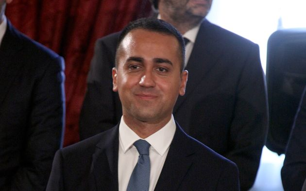 Rome Italy 05 september 2019:talys Foreign Minister Luigi Di Maio (C) during a swearing-in ceremony of...