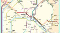 Lignes coupées, stations fermées: le plan du métro parisien ce vendredi de