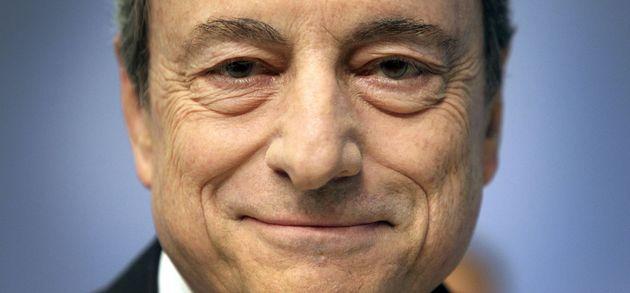 Imagen de archivo del director del BCE, Mario