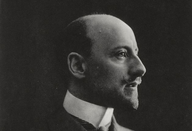 Gabriele D'Annunzio (1863-1938), Italian writer, poet and patriot, May 1915, photograph by Mario Nunes...
