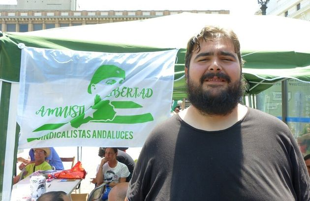 Detenido Óscar Reina, portavoz nacional del Sindicato Andaluz de