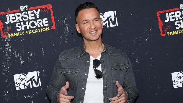 "WEST HOLLYWOOD, CA - MARCH 29:  Mike 'The Situation' Sorrentino attends the ""Jersey Shore Family Vacation"" Global Premiere at HYDE Sunset: Kitchen + Cocktails on March 29, 2018 in West Hollywood, California.  (Photo by Phillip Faraone/FilmMagic)"