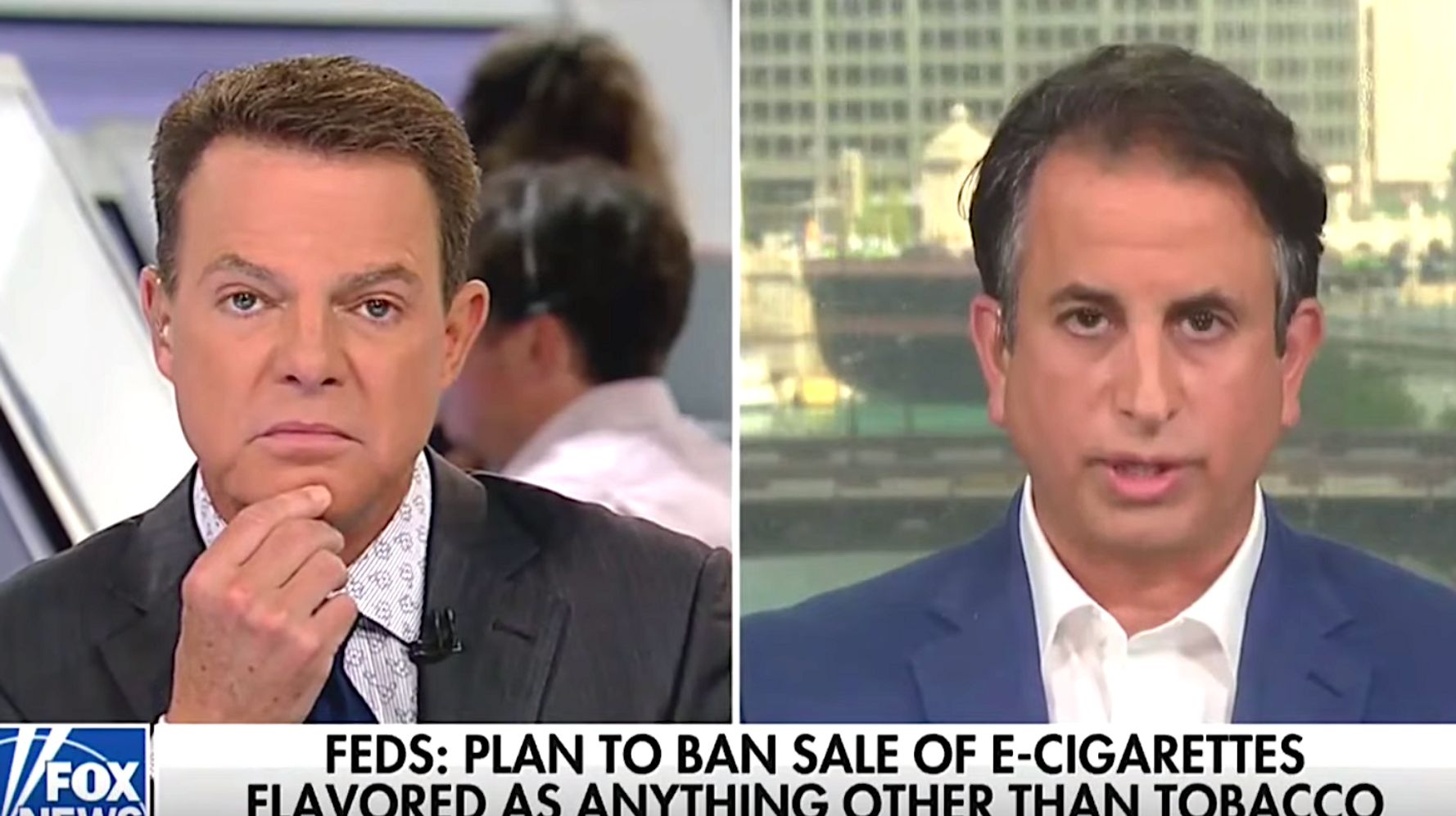 Fox News' Shep Smith Rails Against Vaping Industry Lobbyist In Fiery Interview