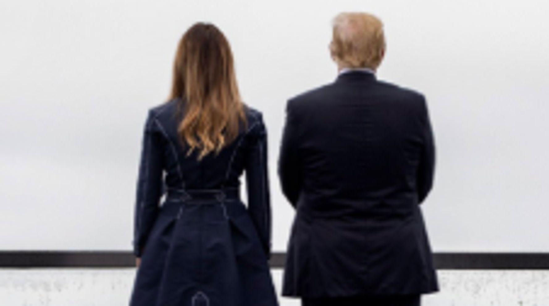 Westlake Legal Group 5d7a755d3b00002b88d1981f White House Calls Criticism Of Melania Trump's 9/11 Coat 'Ridiculous'