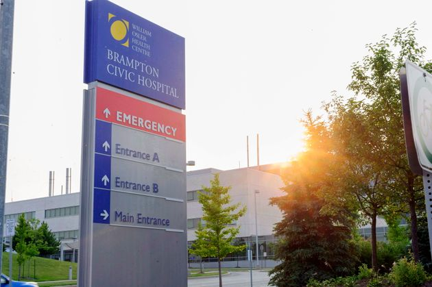 File photo of Brampton Civic Hospital shown on Aug. 8,