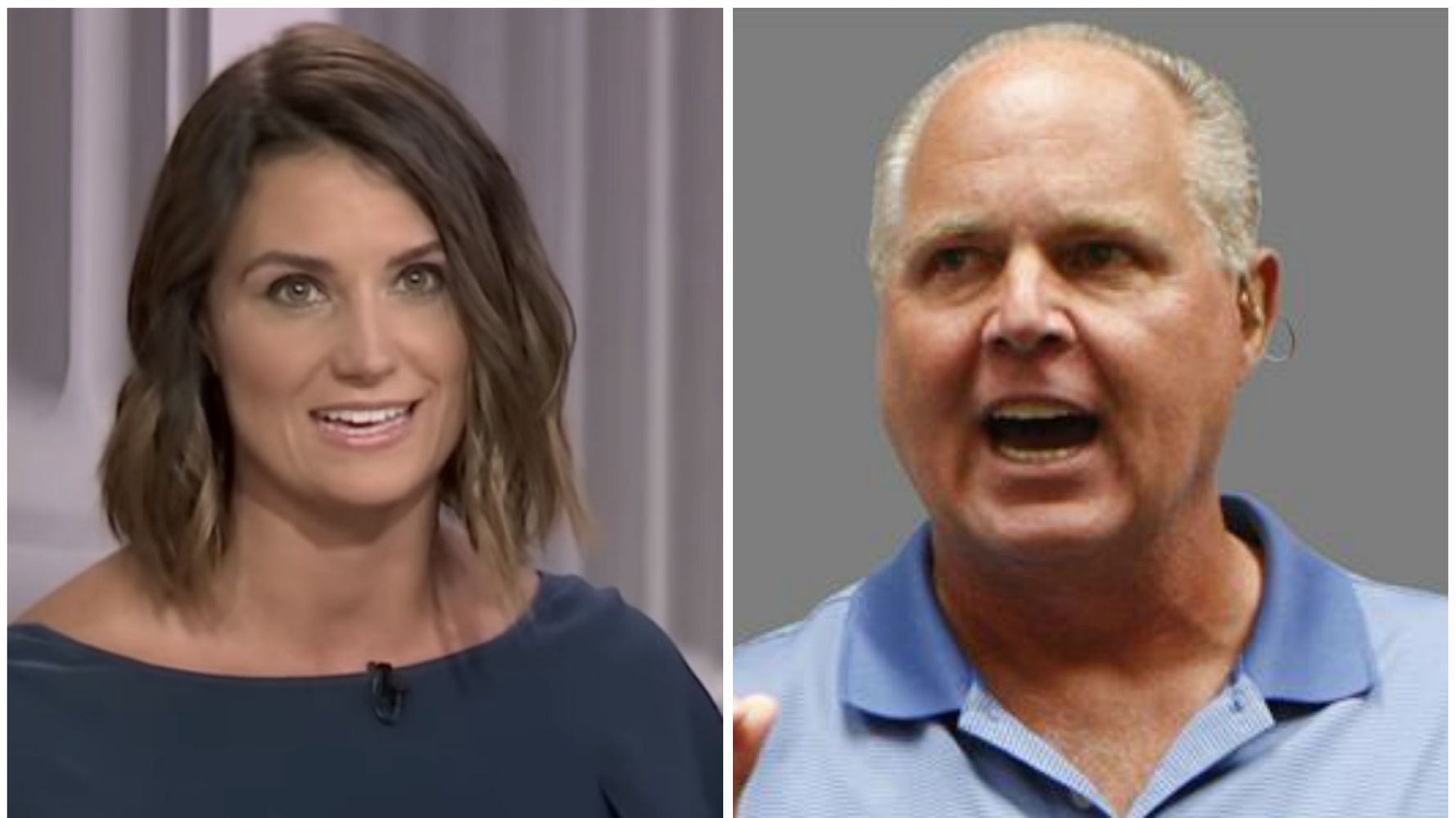 Westlake Legal Group 5d7a7d453b0000c49fd19d91 News Anchor Slams Rush Limbaugh For 'Slut Shaming,' Accusing Her Of Posing Nude At 14