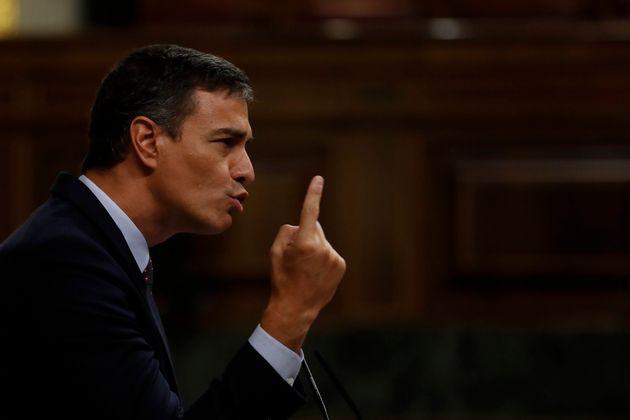 Pedro Sánchez, en el Congreso de los