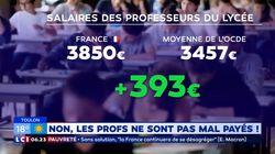 Les professeurs français ne sont pas les mieux payés de
